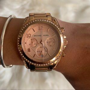 Michael Kors Blair Chronograph Rose Watch MK5263